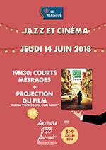 Saveurs jazz 2018(affiche)